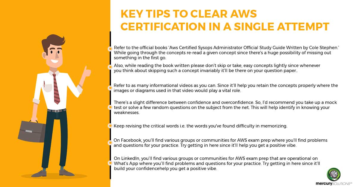 Tips to Crack the AWS Exam in your First Attempt