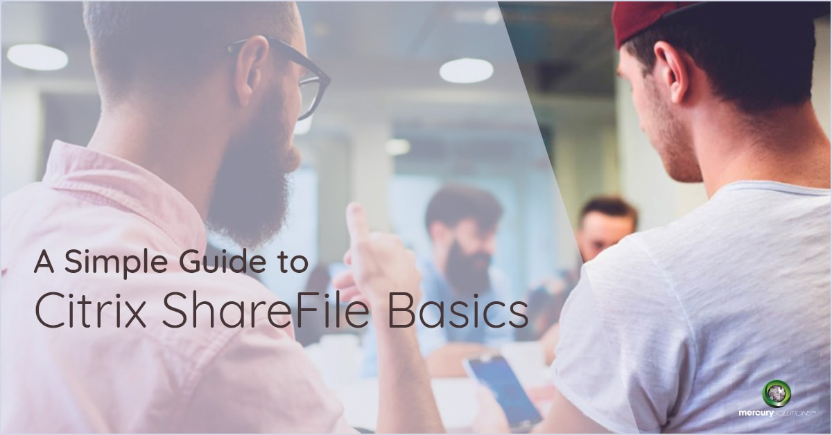 A Simple Guide to Citrix ShareFile Basics