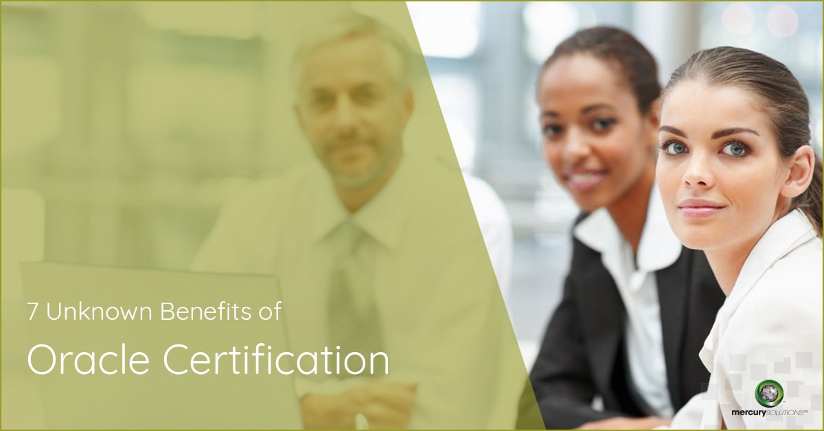 7 Benefits of Oracle Certifications You should know [UPDATED]
