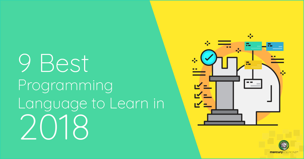 [Infographics] 9 Best Programming Language to Learn in 2018