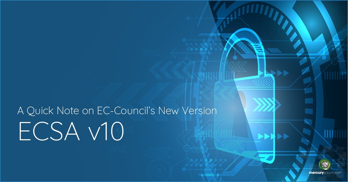 A Quick Note on EC-Council's New Version ECSA V10