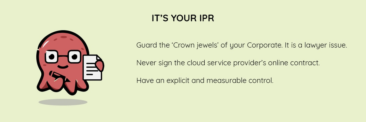 Its your IPR