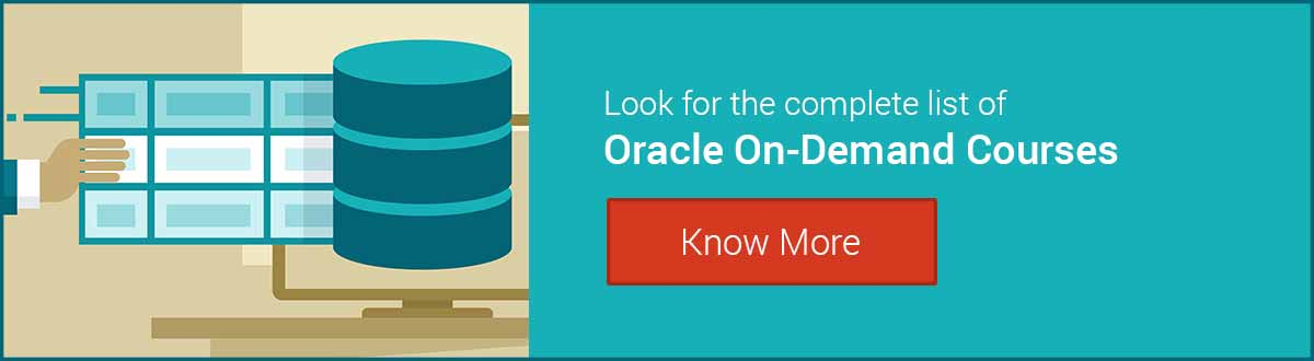 oracle training on demand