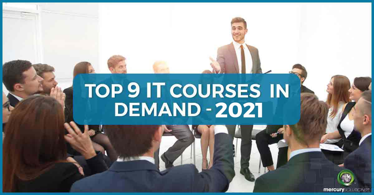 TOP 9 IT Courses In Demand - 2020