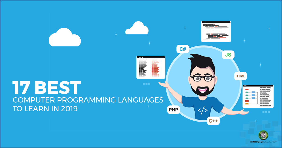 17 Best Computer Programming Language to Learn in 2019