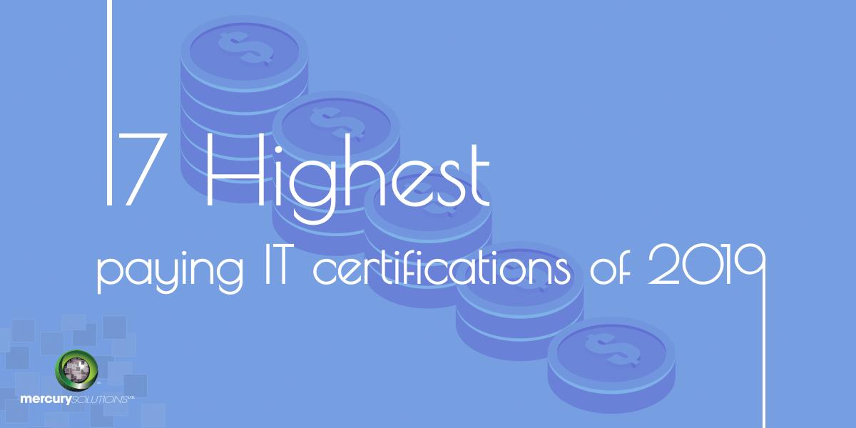 17 Top IT Certifications In Demand Today