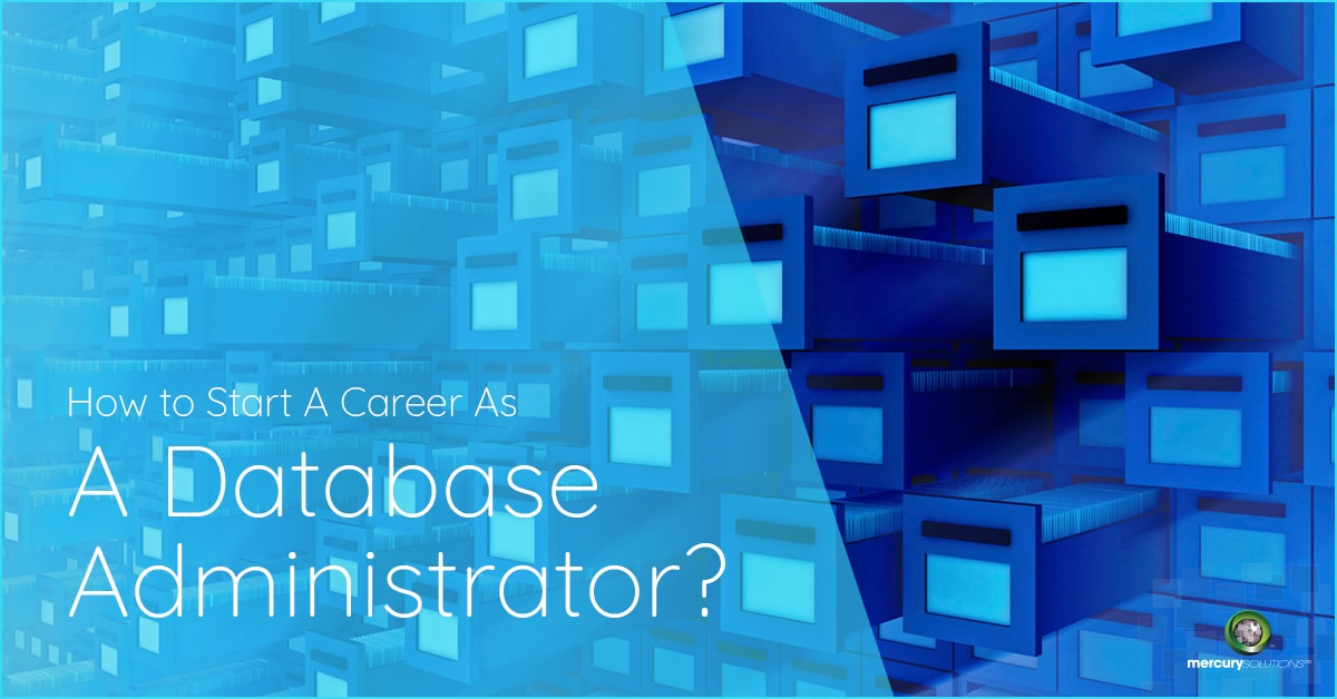 How to start a Career as a Database Administrator? [INFOGRAPHICS]