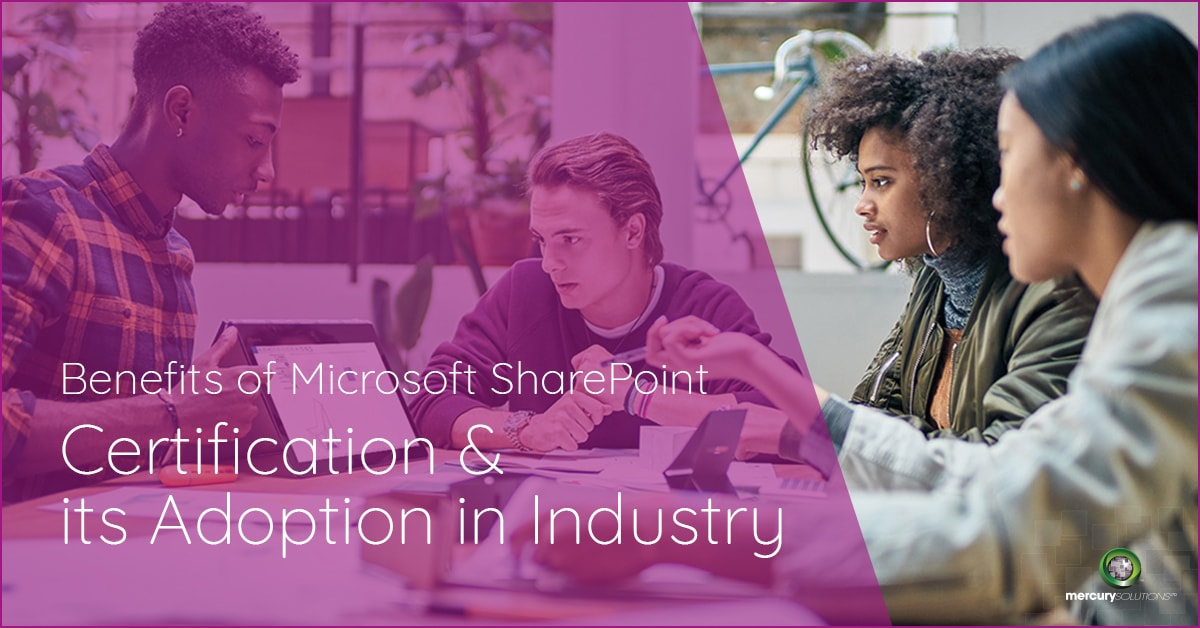 (Infographics) Benefits of Microsoft SharePoint Certification and its Adoption in Industry