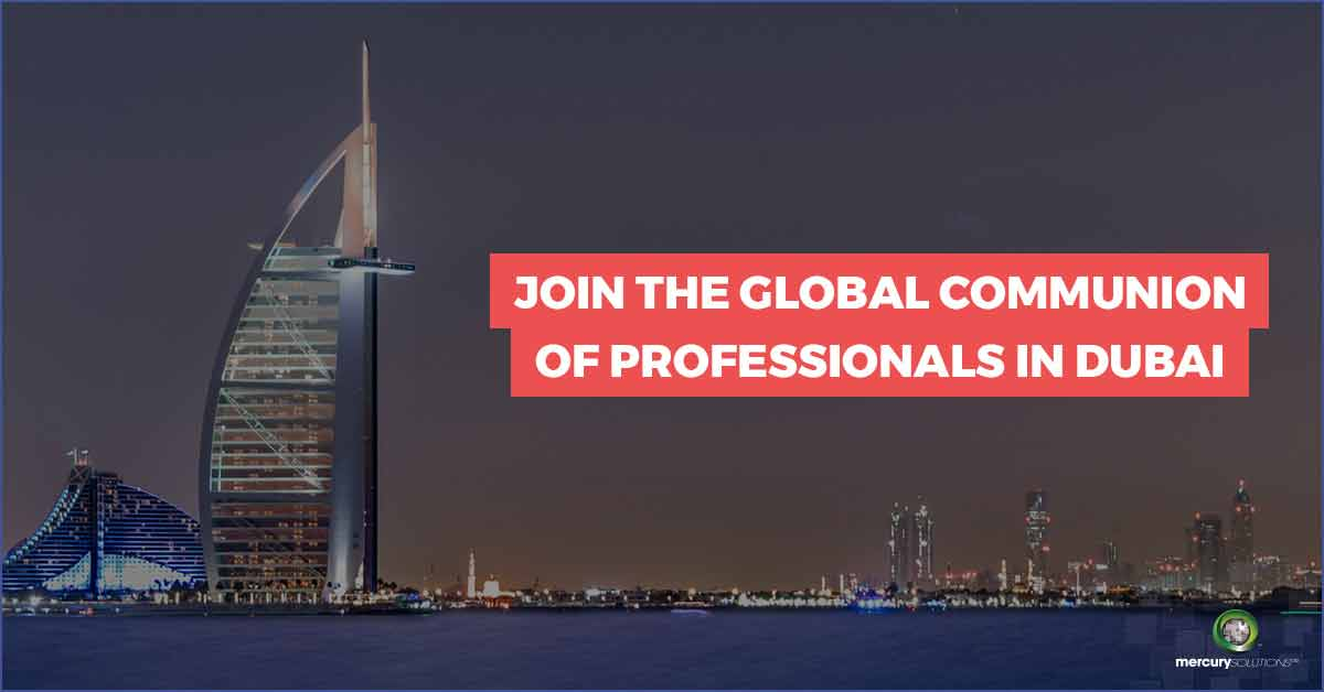 Mercury Solutions Destination Training Program DUBAI 2019 - Submit Your Interest!