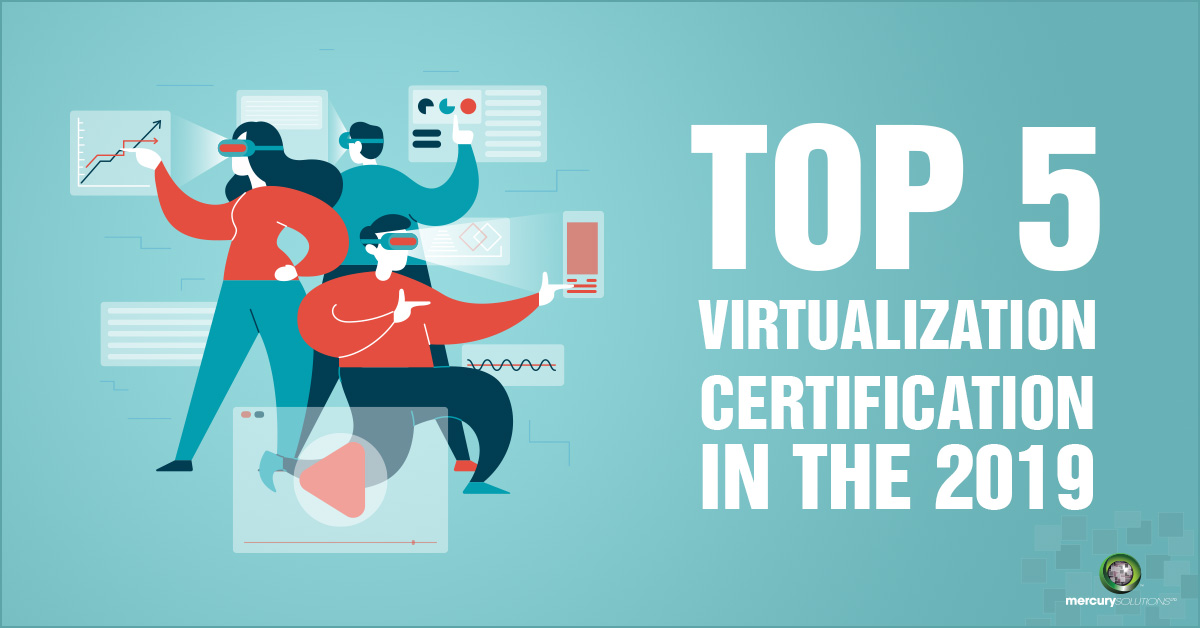 [Infographics] Top 5 Virtualization Certification in the 2019
