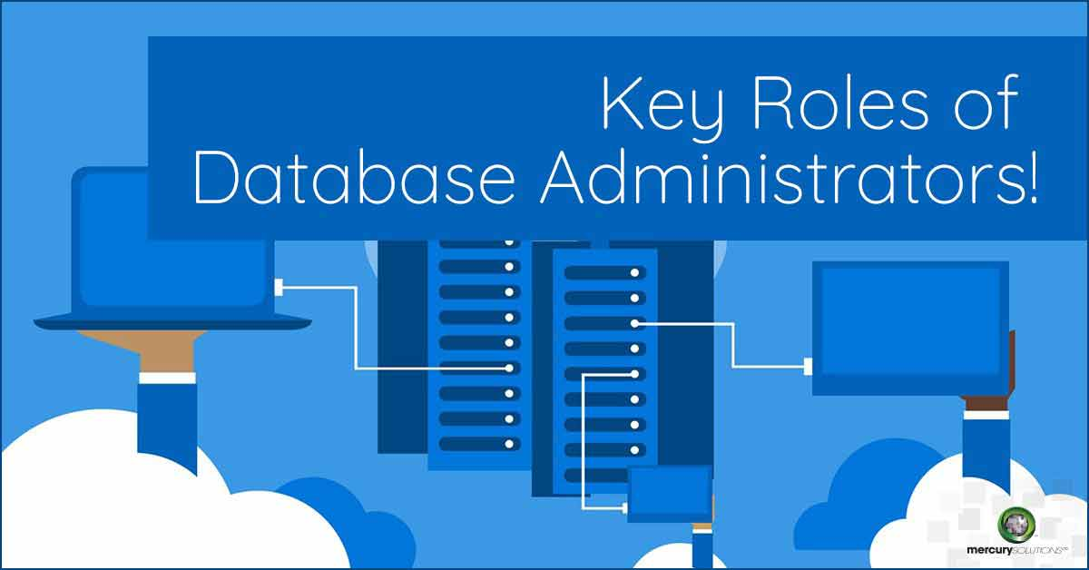 database administrator roles and responsibilities in an organization