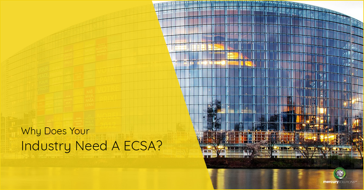 Why Does Your Industry Need A ECSA? [PPT]